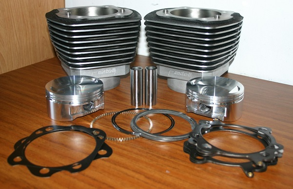 4.125 X 4.375 CYLINDER KIT COMPLETE WITH FLAT TOP PISTONS